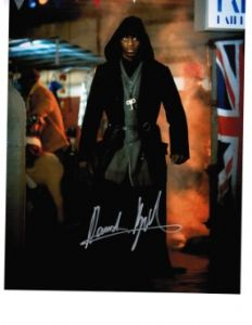 David Ajala from Doctor Who The Beast Below signed 10 by 8